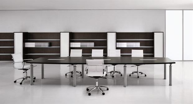 Studio scrivania ufficio arredo nuova tecnocpy for Arredo service sas foggia